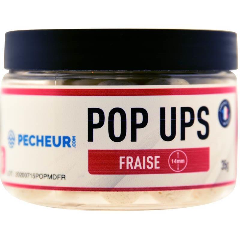 Baits & Additives Pecheur.com PECHEUR.COM BY CAP RIVER POP UPS FRAISE