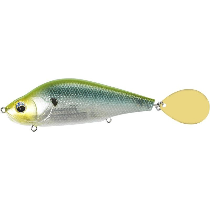 Lures Sebile SPIN GLIDER 65G GBGH - GREEN BACK GHOST