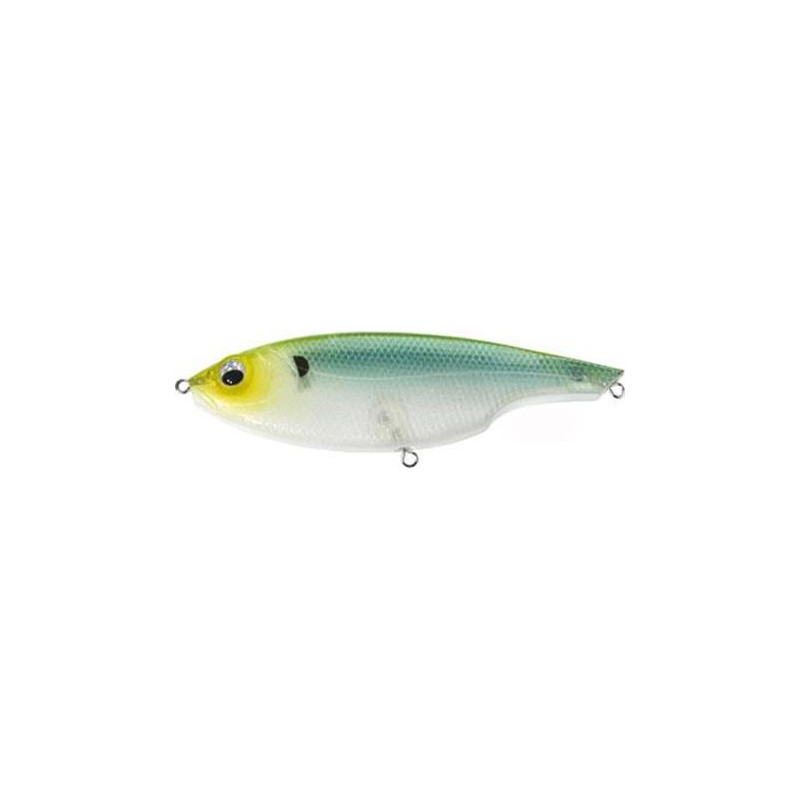 Lures Sebile LIPLESS GLIDER LEURRE COULANT 13CM GBGH - GREEN BACK GHOST