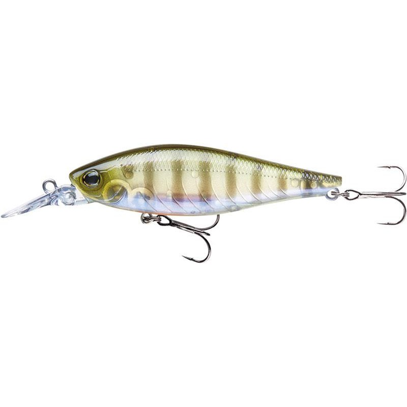 TOURNAMENT TIGHT WAVE SHAD 75F 7.5CM GHOST PERCH