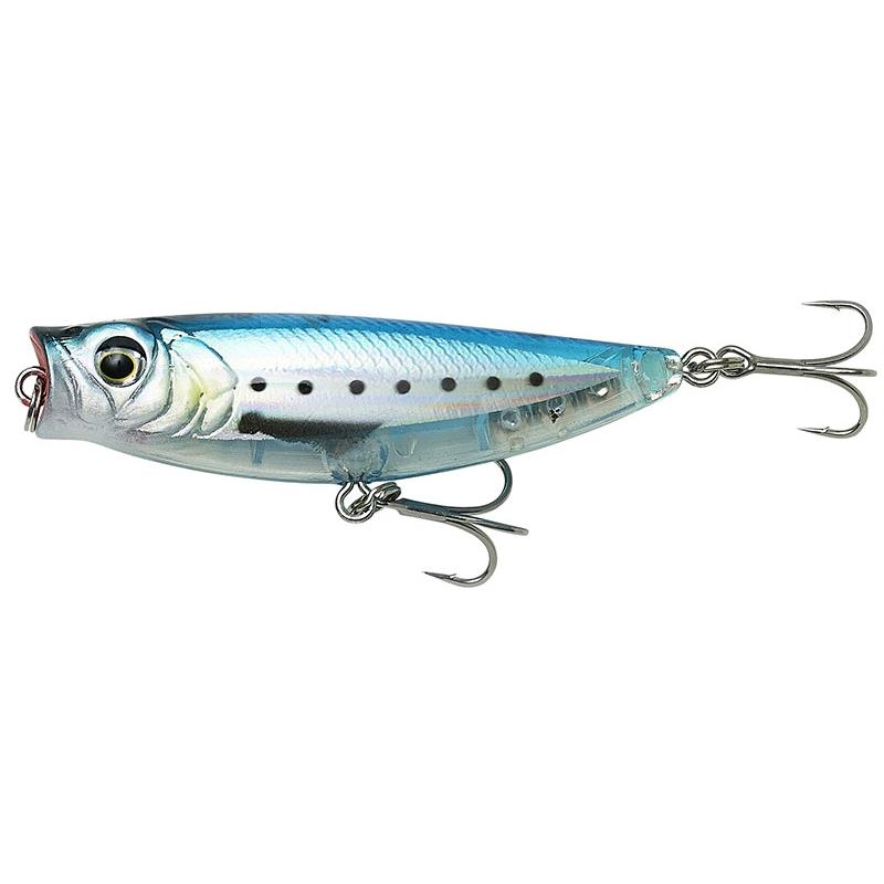 3D MINNOW POP WALKER 5.5CM GHOST SARDINE