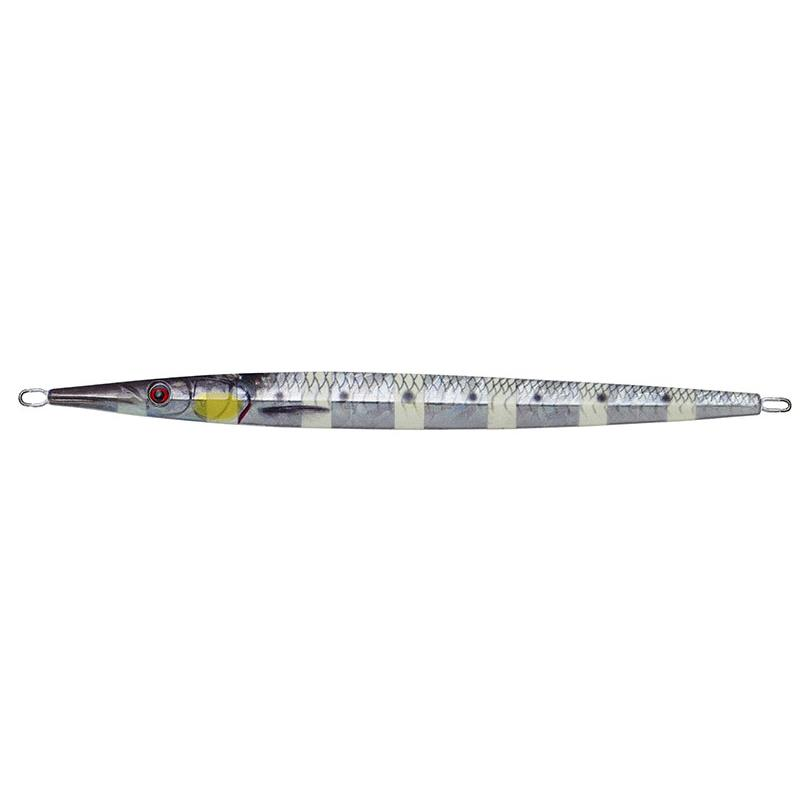 JIG SAVAGE GEAR NEEDLE JIG - 80G - Glow Zebra Fluo