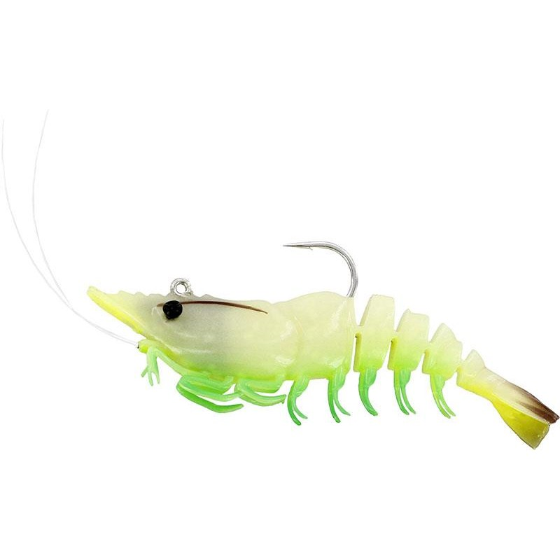 Lures Westin SALTY THE SHRIMP R'N R 7.5CM GLOWING SHRIMP