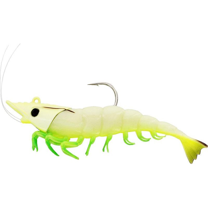 Lures Westin SALTY THE SHRIMP JIG 8CM GLOWING SHRIMP