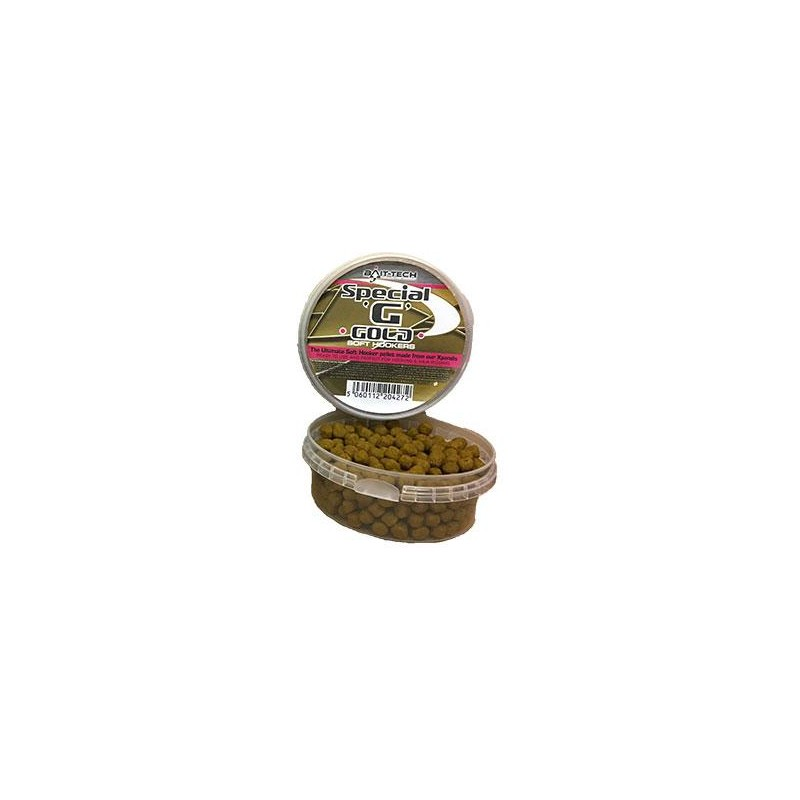 Baits & Additives Bait Tech SOFT HOOKERS SPECIAL G GOLD