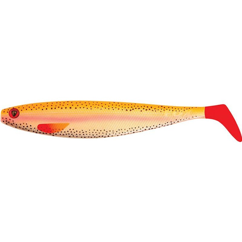 Lures Fox Rage PRO SHAD FIRETAILS II 23CM GOLDEN TROUT