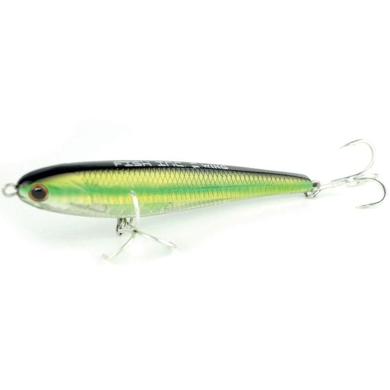 Leurres FISH INC.LURES WING SINKING 12CM GREEN BACK