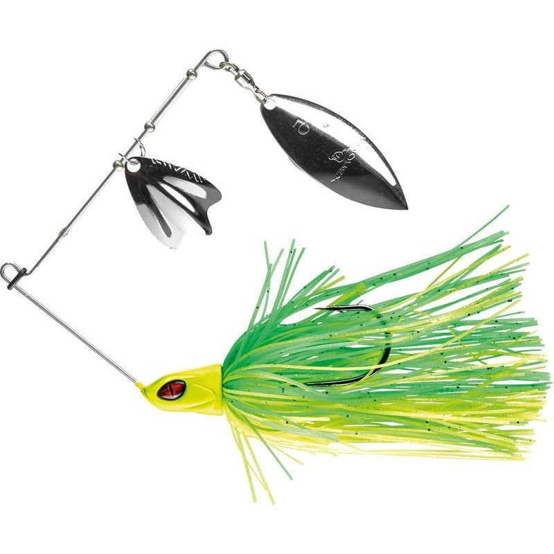 Lures Daiwa PROREX SPINNER BT DB 21G GREEN CHARTREUSE