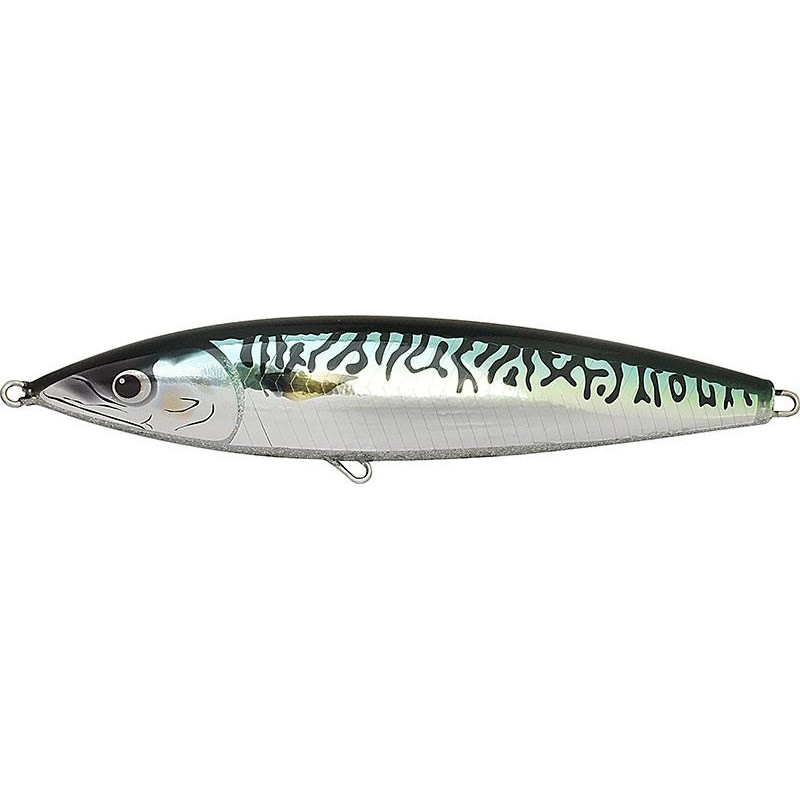 Leurres Fish Tornado REAL MACKEREL SINKING 18CM GREEN MACKEREL