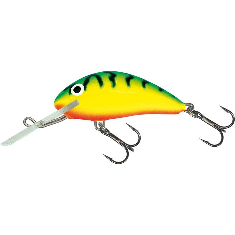 Lures Salmo HORNET FLOATING 5CM GREEN TIGER