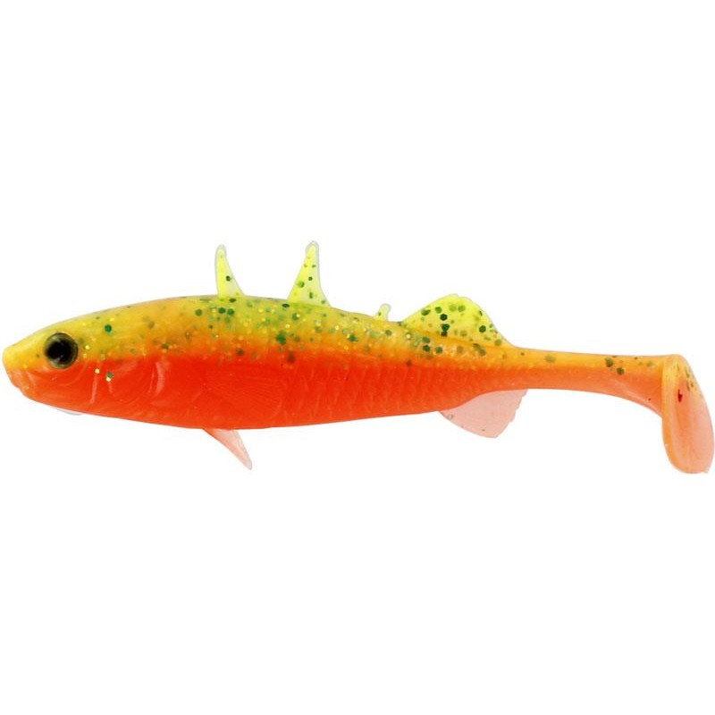 STANLEY THE STICKLEBACK SHADTAIL 7.5CM GREEN TOMATO