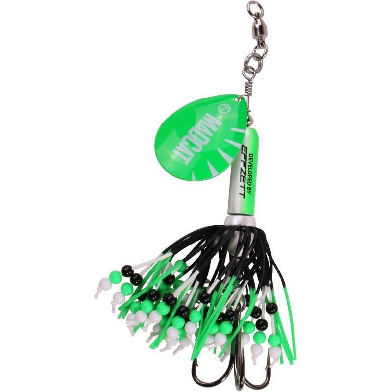 INLINE SPOON MADCAT RATTLIN TEASER - Green