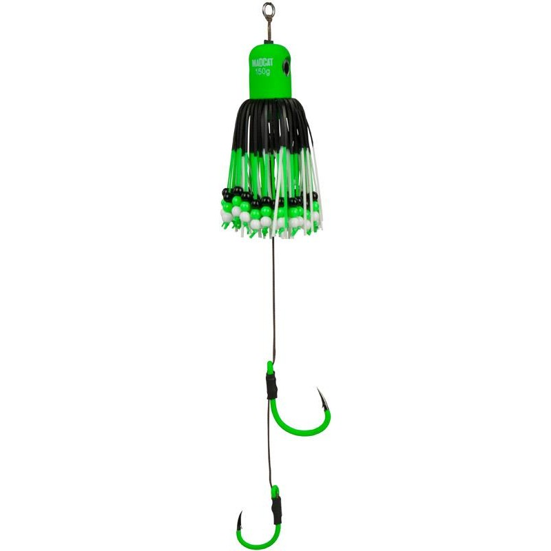 Lures Mad Cat CLONK TEASER A STATIC 200G GREEN