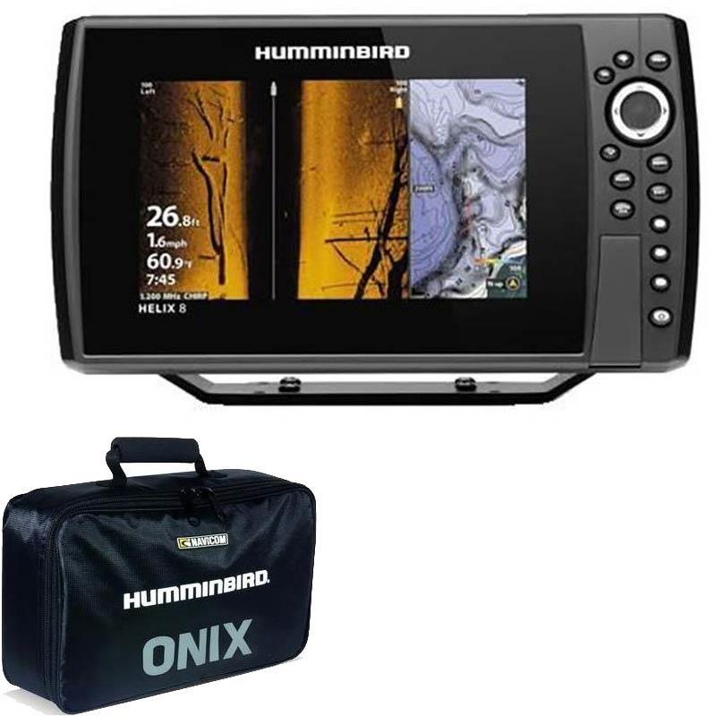 Instruments Humminbird HELIX 8G4N CHIRP MEGA SI+ H8G4N CMSI+TA + UNE SACOCHE OFFERTE