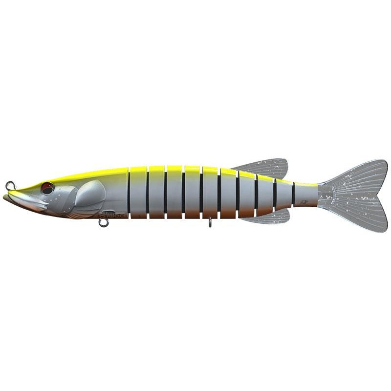 Lures Biwaa Fishing Performance SWIMPIKE SLOW SINK 18CM 26G HI VIZ