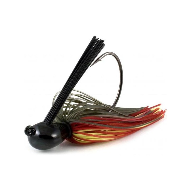 Lures Black Flagg RK JAWS JIGG WEEDLESS 28G HOT MELON
