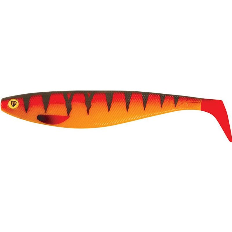 Lures Fox Rage PRO SHAD FIRETAILS II 23CM HOT TIGER