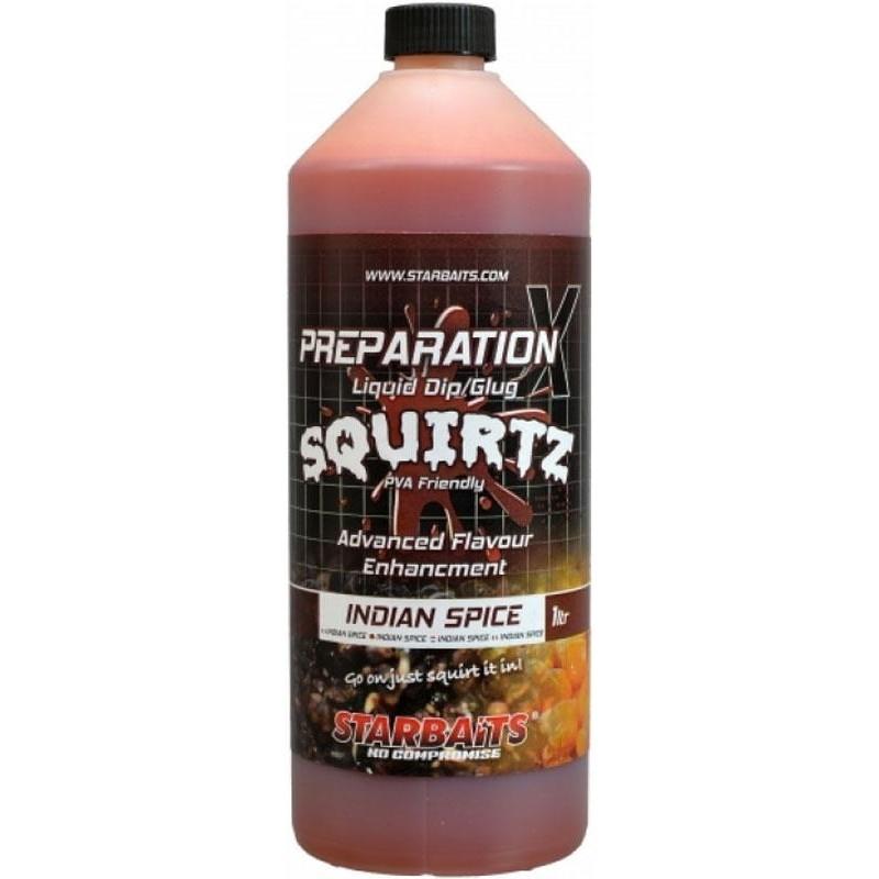 PREPARATION X SQUIRTZ INDIAN SPICE