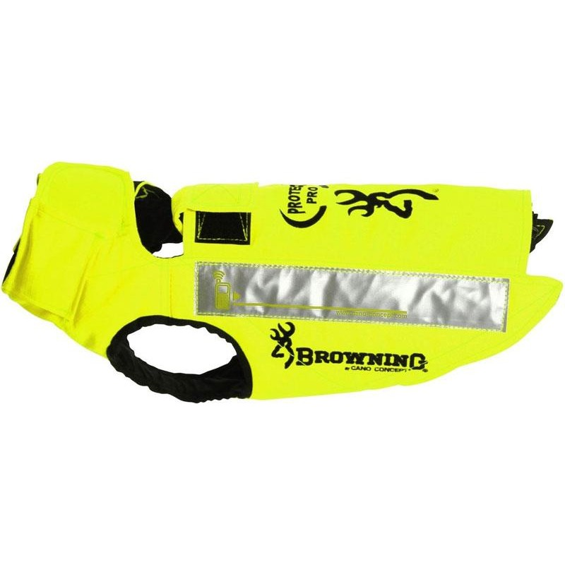 GILET DE PROTECTION SANGLIER CANO CONCEPT BY BROWNING PROTECT PRO - Jaune - Taille 45