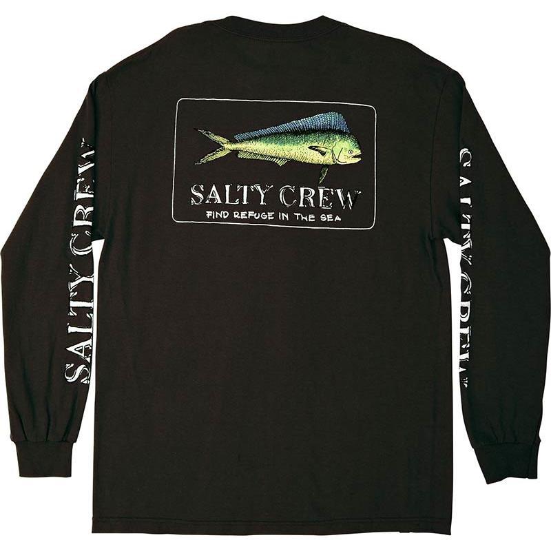 Apparel Salty Crew EL DORADO L/S TEE NOIR