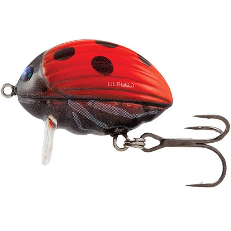 Lures Salmo LIL BUG FLOATING 3CM LADYBIRD