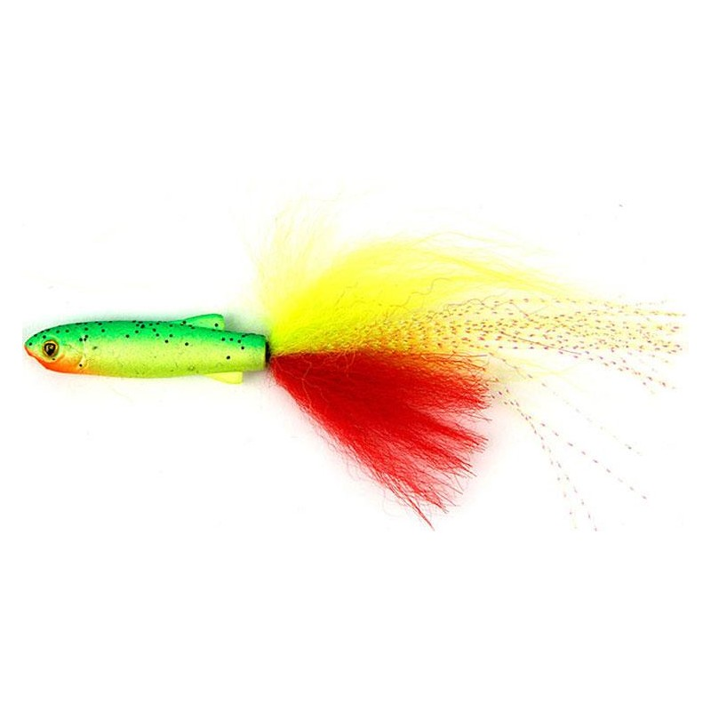 Flies Fox Rage FISH SNAX DROPSHOT FRY 12CM LEMON TIGER
