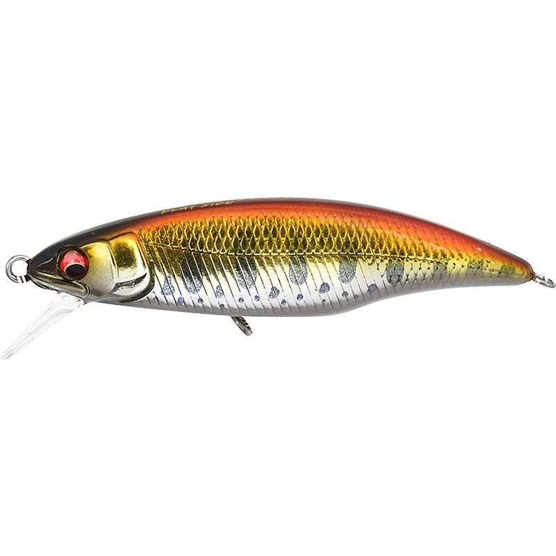 Lures Megabass GREAT HUNTING FLAT SIDE 5CM M RED STREAM
