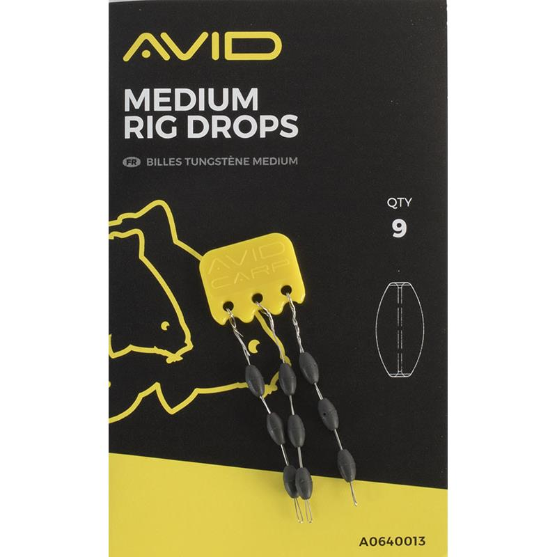 Tying Avid Carp RIG DROPS MEDIUM