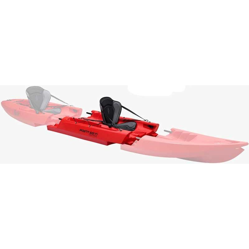 Crafts Point 65°N TEQUILA GTX MODULE SUPPLEMENTAIRE POUR KAYAK MODULABLE MODULE SUPPLÉMENTAIRE ROUGE