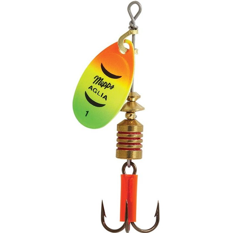 Lures Mepps AGLIA FLUO OR / TIGER N°1 - OR TIGER