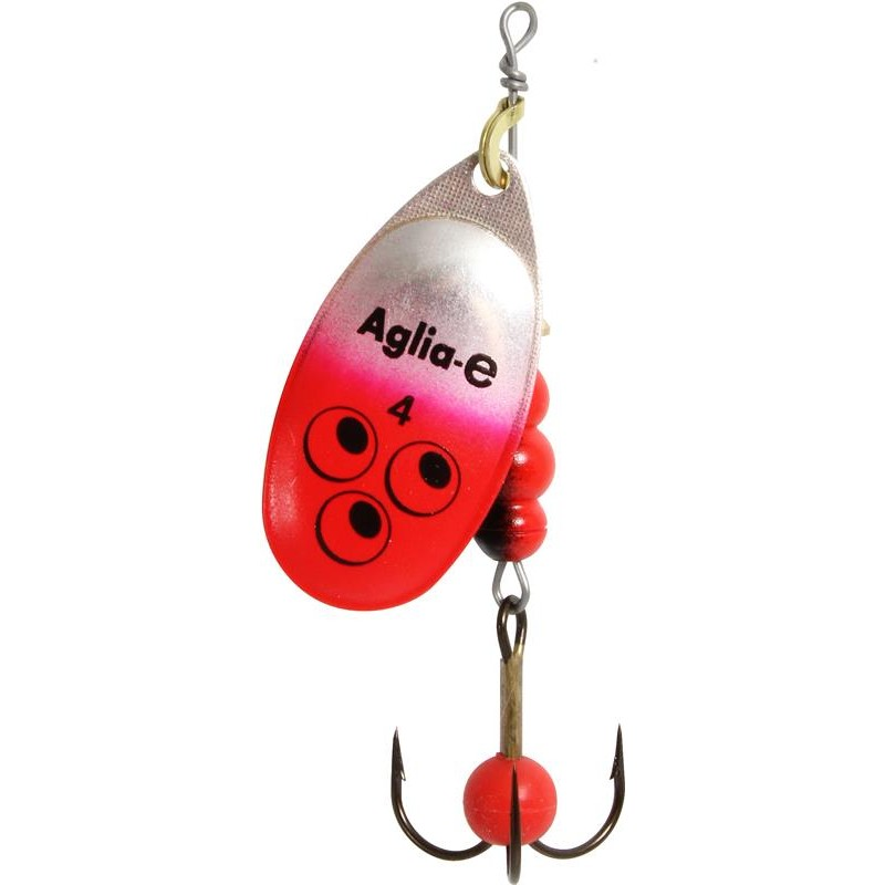 Lures Mepps AGLIA E BRITE ROUGE N°1 - ROUGE