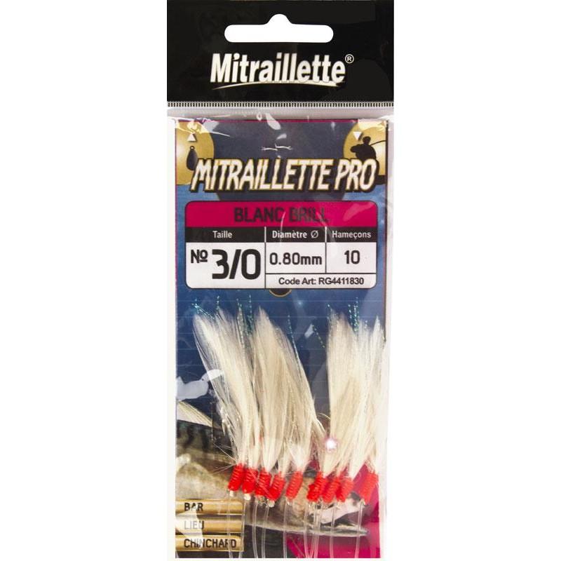Lines Ragot MITRAILLETTE ORIGINAL INOX N°2/0 60/100 BLANC