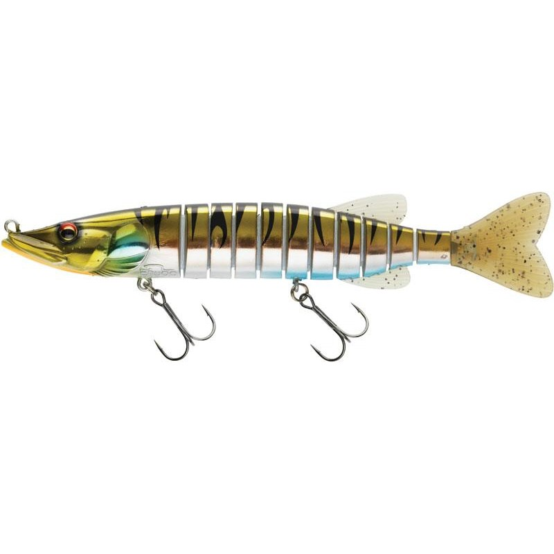 Lures Biwaa Fishing Performance SWIMPIKE SLOW SINK 24CM 62G NATURAL TIGER