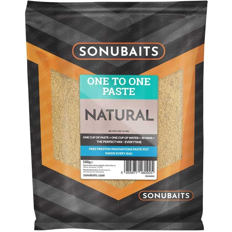 Baits & Additives Sonubaits ONE TO ONE PASTE NATURE