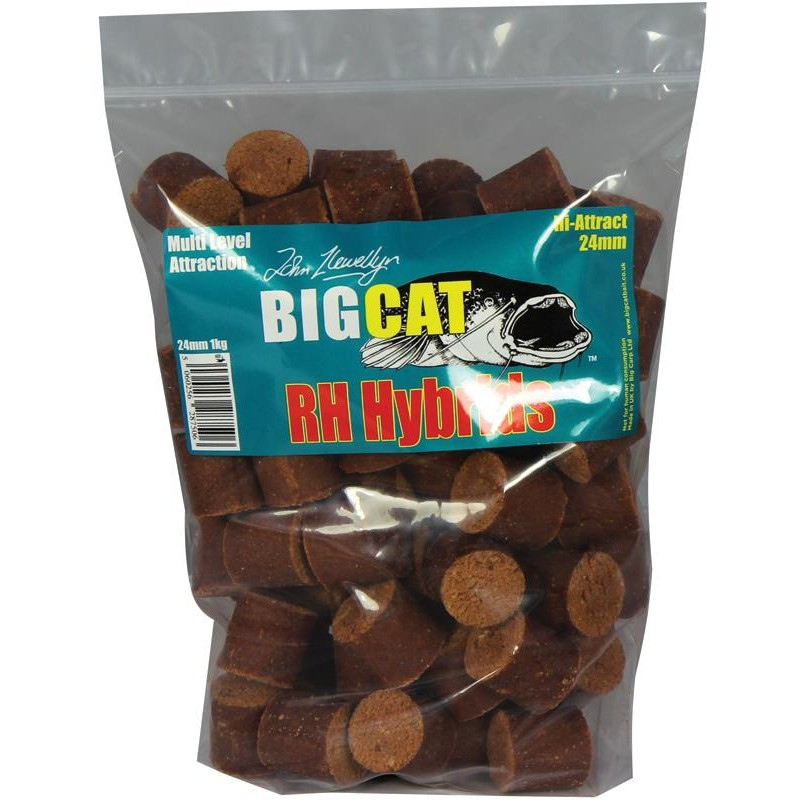 Baits & Additives Big Cat RH HYBRIDS O 24MM 1KG
