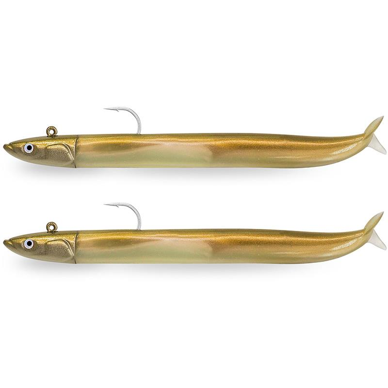 DOUBLE COMBO CRAZY SAND EEL 120 + TETE PLOMBEE OFF SHORE
