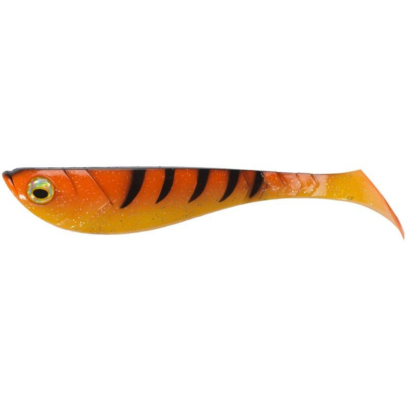 Lures Berkley POWERBAIT PULSE SHAD 18CM ORANGE BLACK