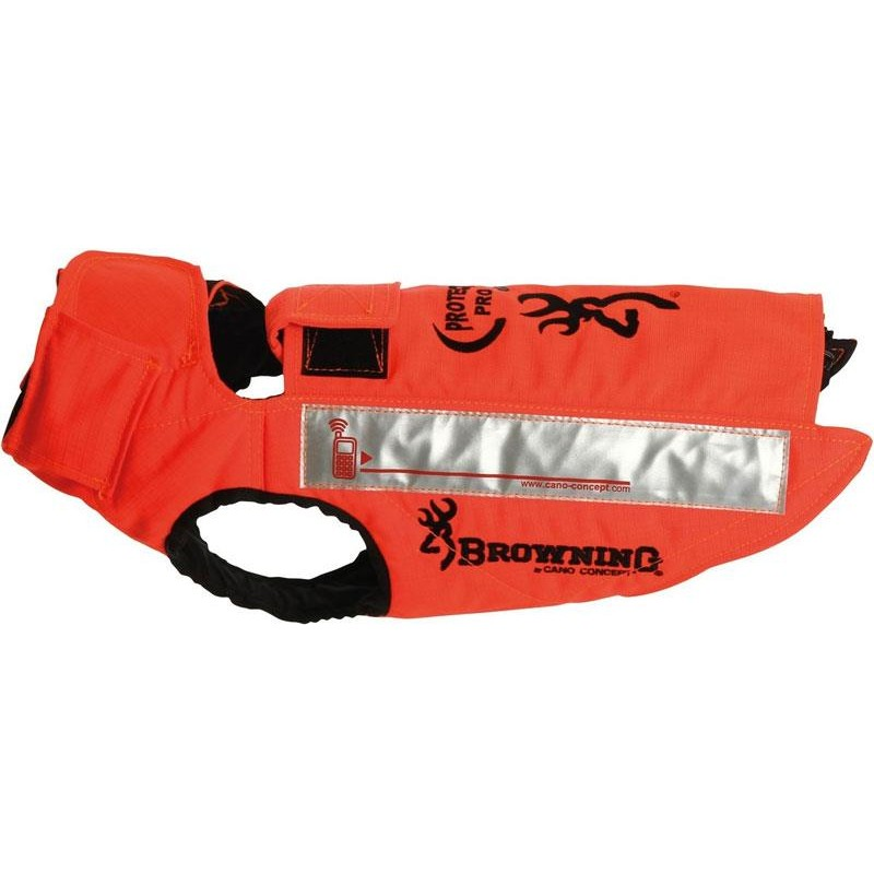 GILET DE PROTECTION SANGLIER CANO CONCEPT BY BROWNING PROTECT PRO - Orange - Taille 65