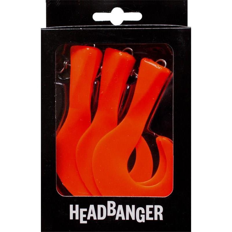 Lures HeadBanger TAIL REPLACEMENT TAILS ORANGE