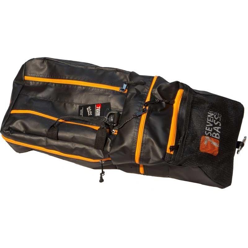 POCHE POUR FLOAT TUBE SEVEN BASS FLEX CARGO GATOR - Orange