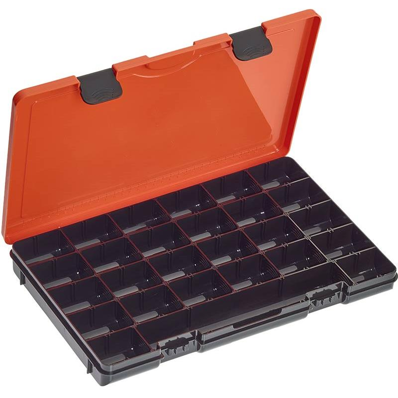 Accessories Rok Fishing HOOKBAIT BOX 371 ORANGE