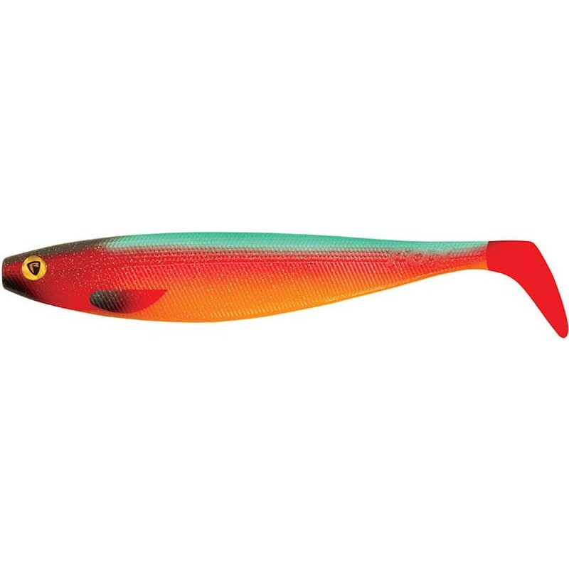 PRO SHAD FIRETAILS II 23CM PARROT