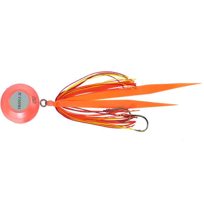 Lures Grauvell CROSS TWO TRIPLE 120G PEARL ORANGE