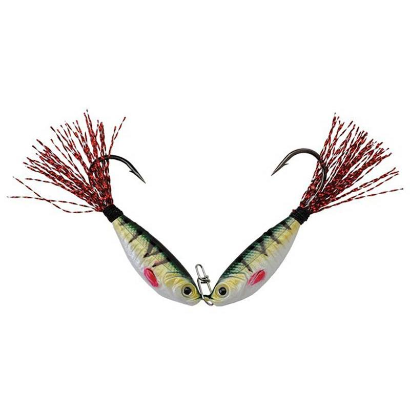 Leurres Up'N'Down ROTA SHAD 10G PERCH RED TAIL - PERCH - RED TAIL