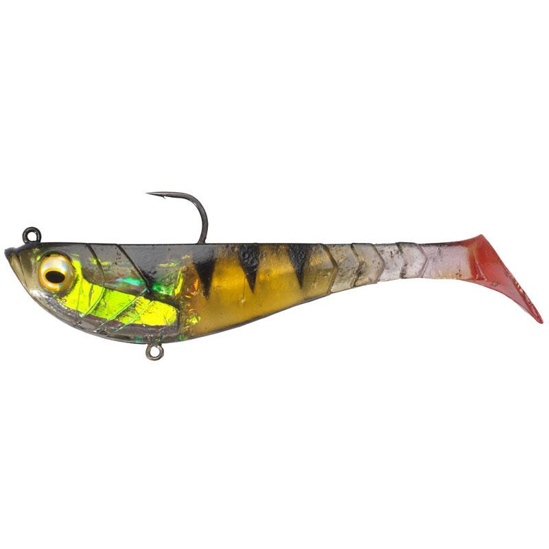 LEURRE SOUPLE BERKLEY POWERBAIT PULSE SHAD PRE-RIGGED - 11CM - PAR 3 - Perch
