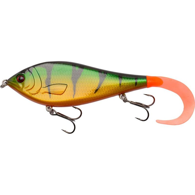 LEURRE COULANT EFFZETT HYBRID JERK - 17CM - Perch