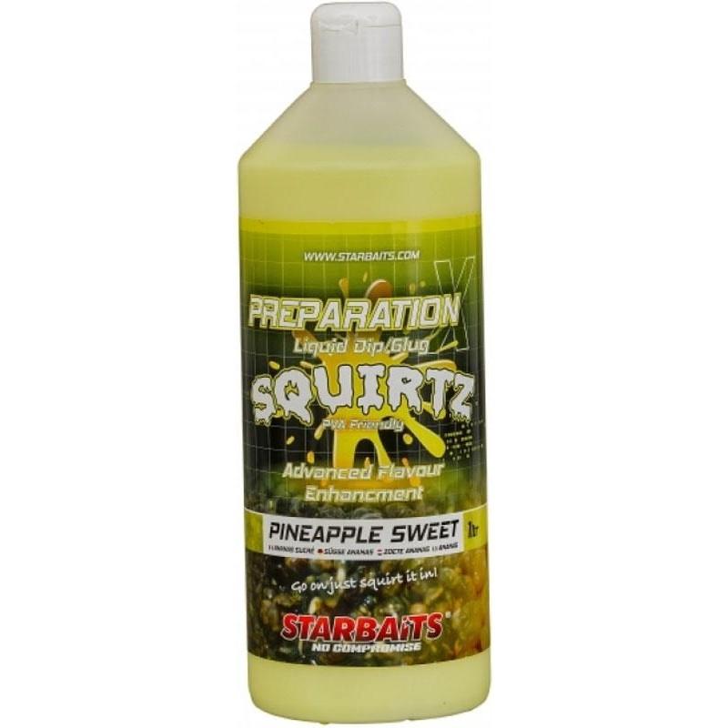 ATTRACTANT LIQUIDE STARBAITS PREPARATION X SQUIRTZ - Pineapple Sweet
