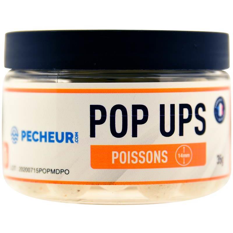Baits & Additives Pecheur.com PECHEUR.COM BY CAP RIVER POP UPS POISSONS
