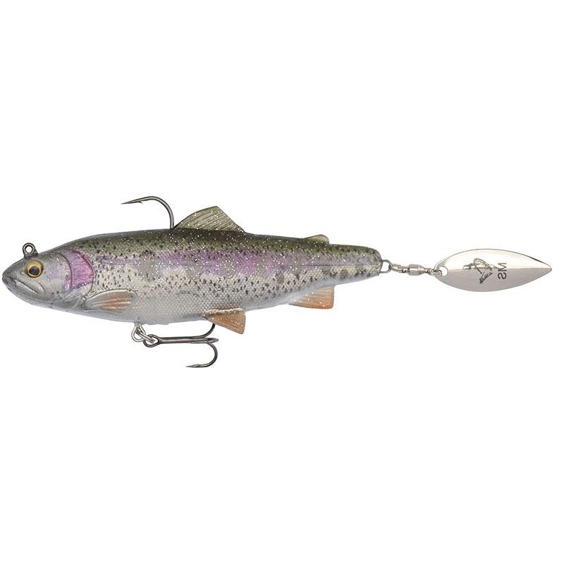 Savage Gear  4D SPIN SHAD TROUT 14.5CM Rainbow Trout