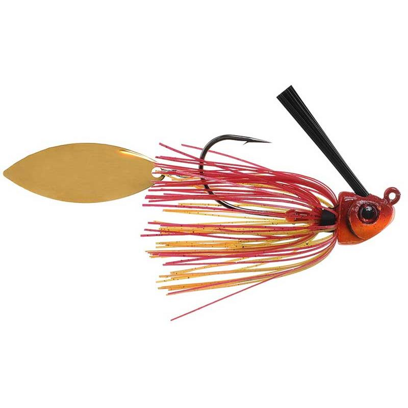 Lures Phenix Baits VENGEANCE WEEDLESS JIG SPIN 10.5G RED CRAB